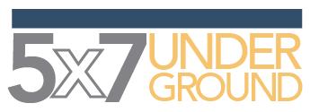 5x7 UNDERGROUND Logo