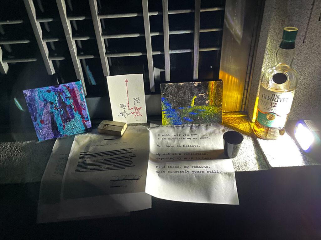 1st Annual 5x7 UNDERGROUND Clyfford Still Graveside Birthday Toas 5x7 UNDERGROUND GALLERY