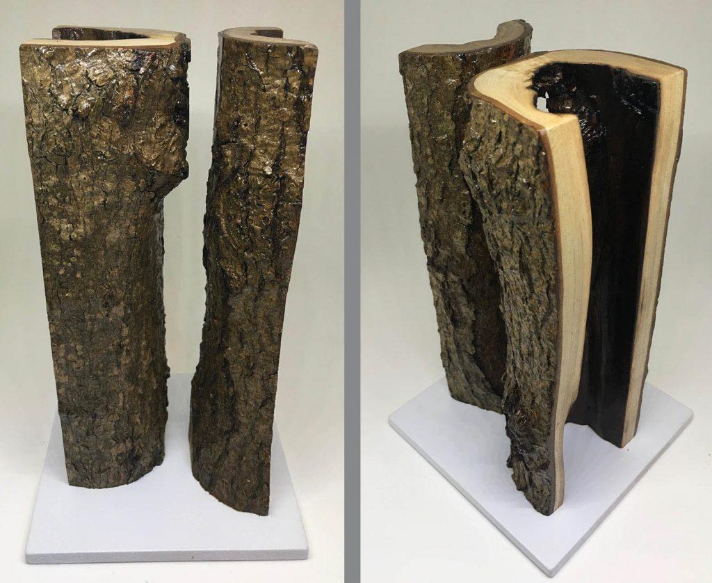 """""""A Sketch for Something Larger"""" varnished wood"""