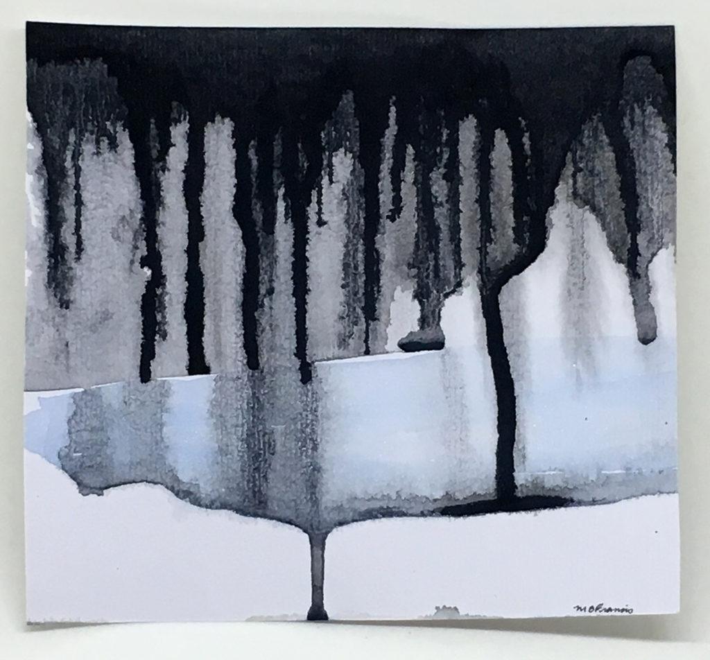 """Aquifer"" watercolor painting"