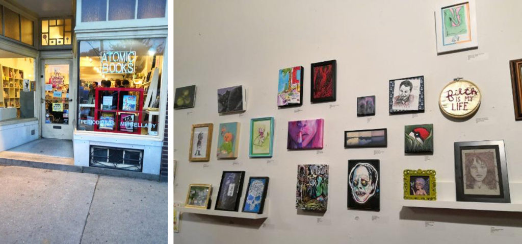 Atomic Books 2nd Annual Big Little Art Show