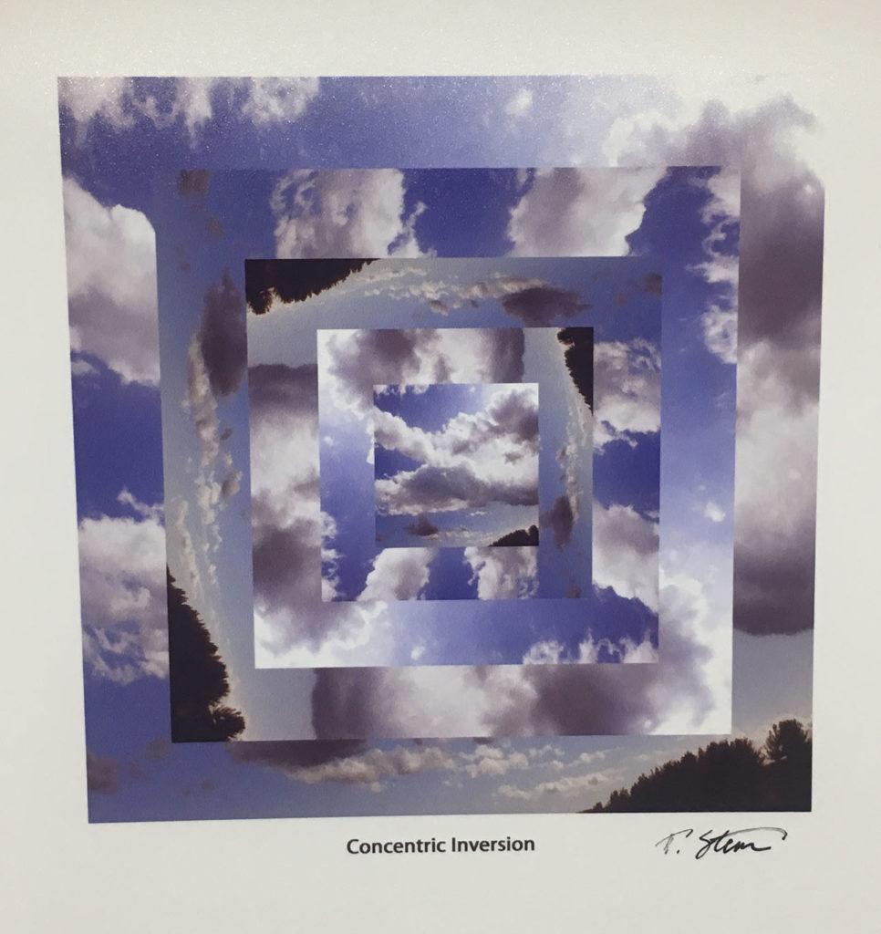 """Concentric Inversion"" digital image artwork"